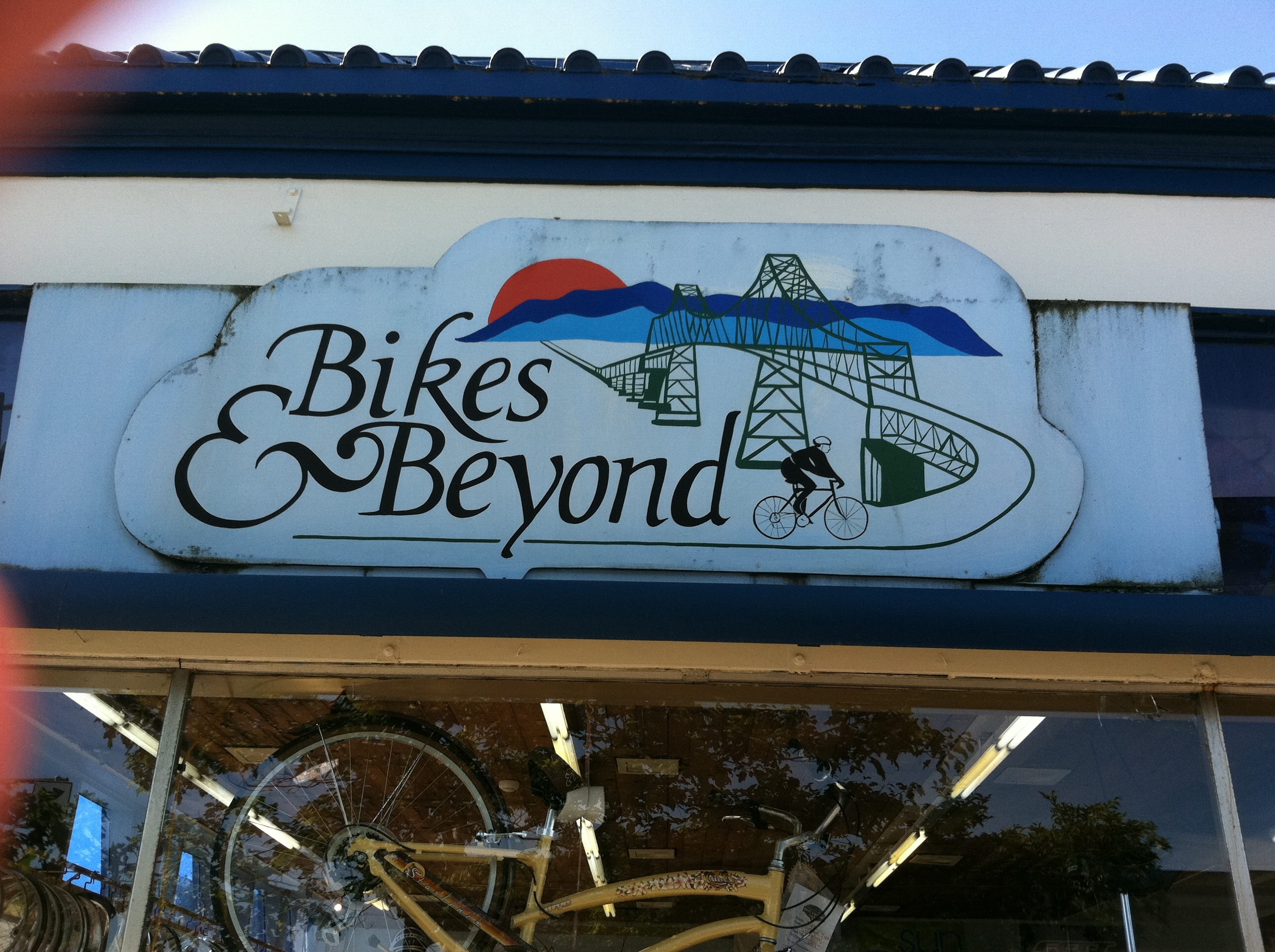 Bikes And Beyond Astoria Oregon Made it to Starting Point